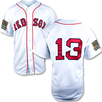 Fenway 100 Replica Home Jersey - #13 FJEA0154