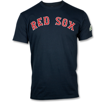 Fenway 100 Fieldhouse Patch T-Shirt - Navy FTA0012