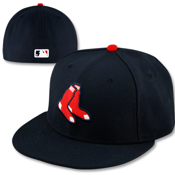 Red Sox Official 2 Sock Onfield Cap H0576