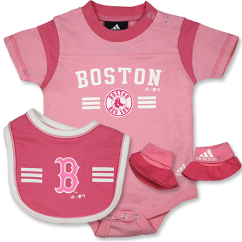 Infant Bib and Bootie Set - Pink INF0131