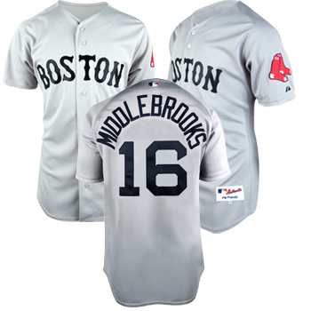 Authentic Road Jersey - Middlebrooks JEA0349