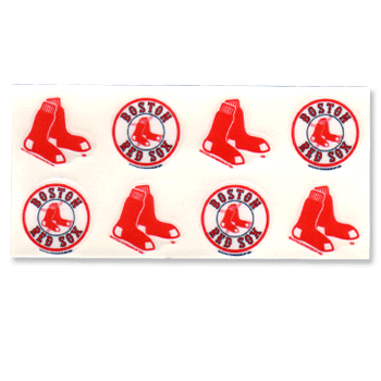 Red Sox Face Tattoo N0244