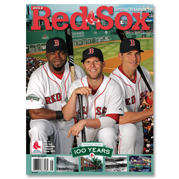 Red Sox 2012 Yearbook N1438