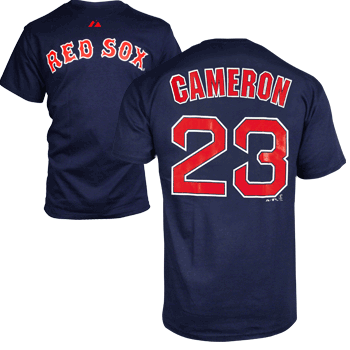 Player T-Shirt Cameron - Navy TA0023