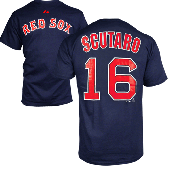 Scutaro Navy Player T-Shirt #16 TA0054