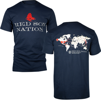 Red Sox Nation 2-Sided T-Shirt - Navy TA0267